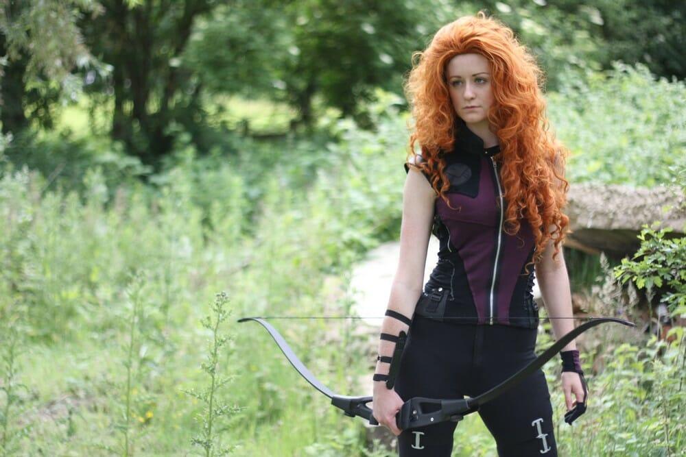Merida Hawkeye cosplay 0