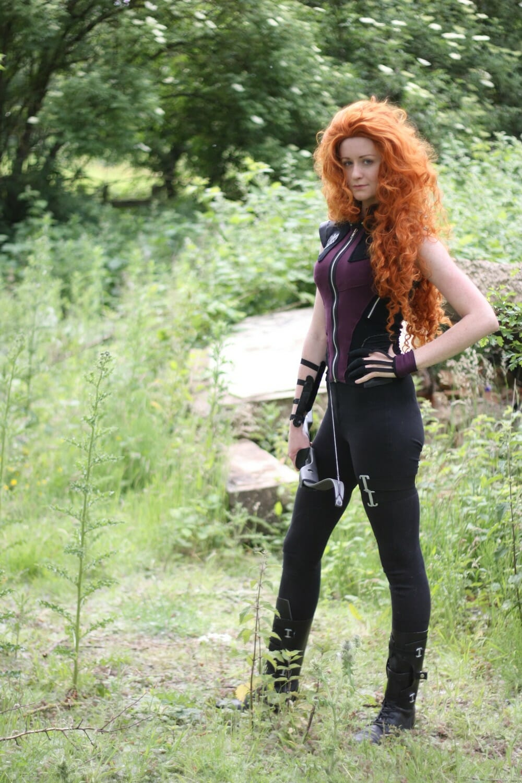 Merida Hawkeye cosplay 1