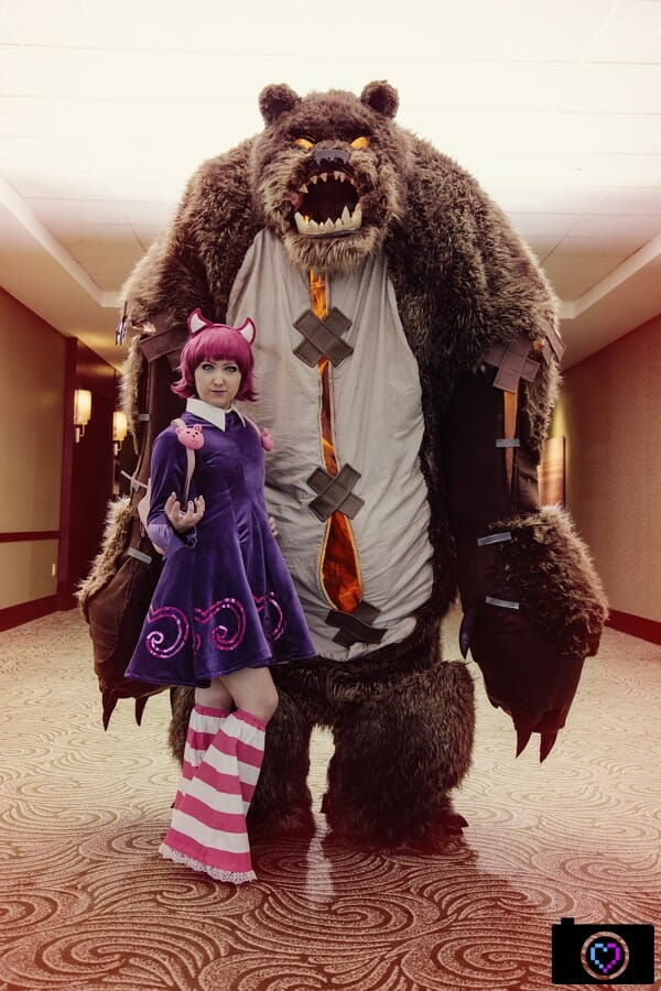 Dangerously Good Annie And Tibbers From League Of Legends