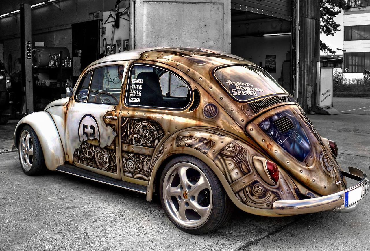 Herbie goes Steampunk 1