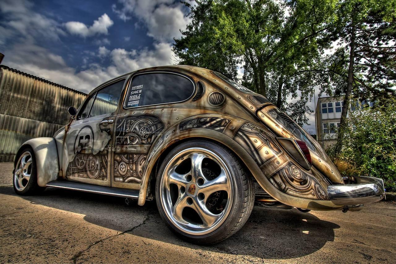 Herbie goes Steampunk 4
