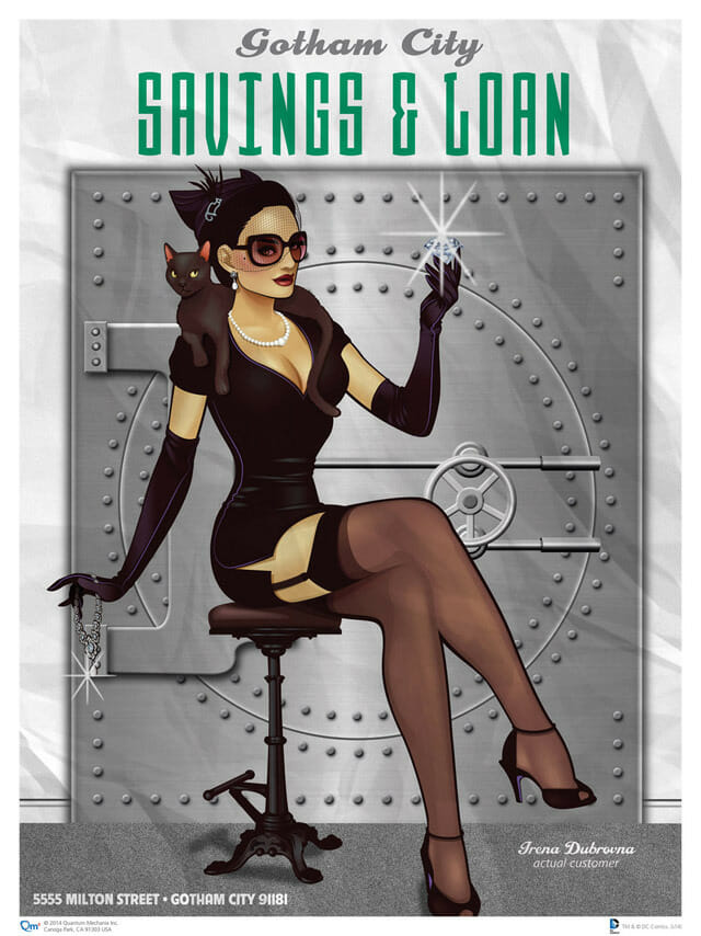 Catwoman pin