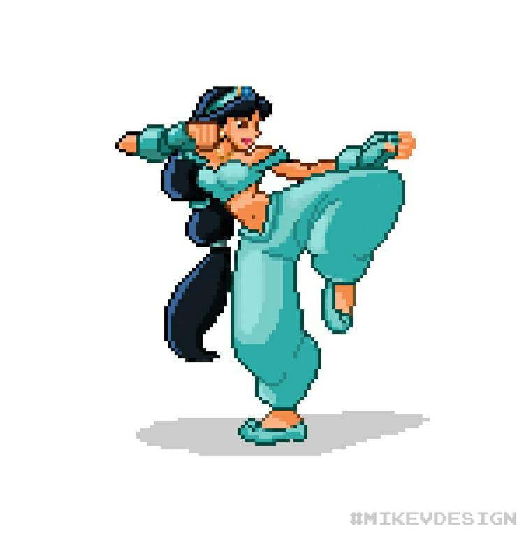 Michael Villamejor Street Fighter Disney 5