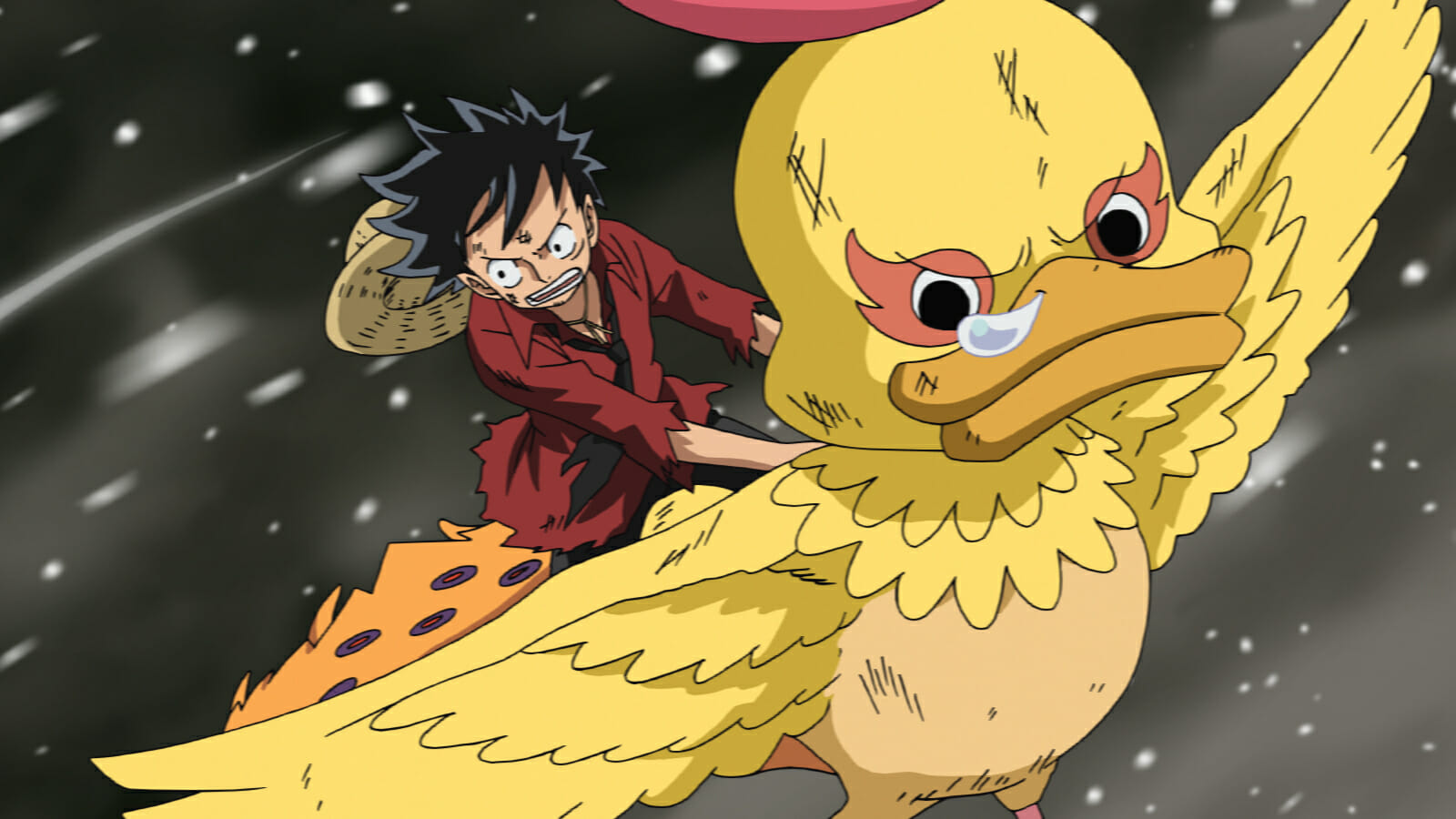 Monstrous A Review Of The One Piece Movie Strong World