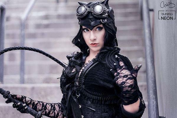 Steampunk Catwoman 1