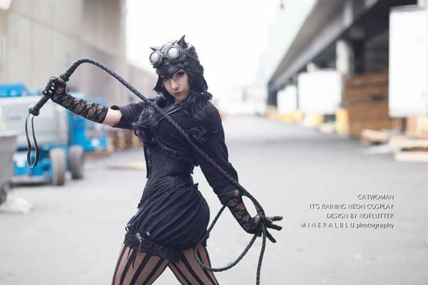 Steampunk Catwoman 2