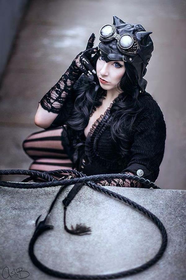 Steampunk Catwoman 4