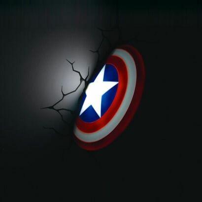 Wall Light - Captain America