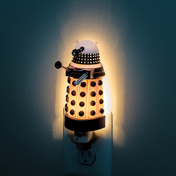 dalek bedside light