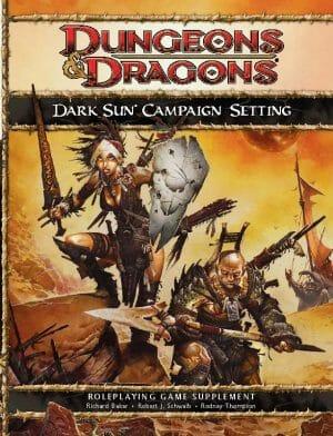 dark sun campaign setting