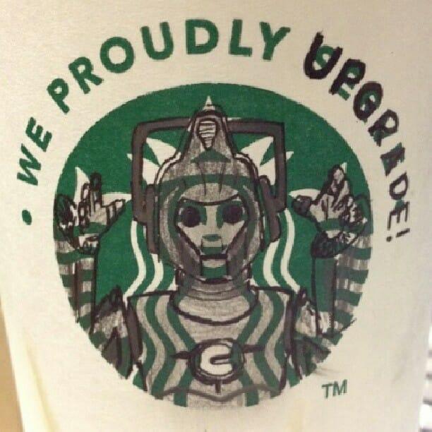 Starbucks Cyberman