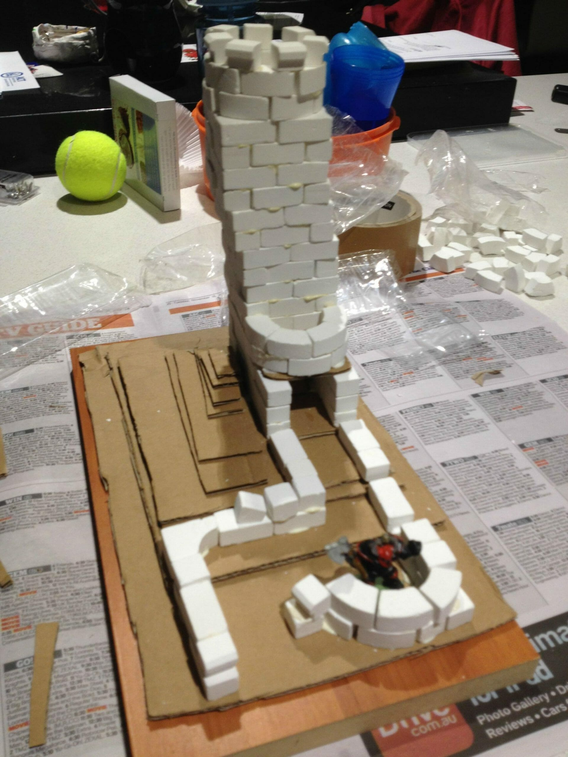 05 - Fortifications added