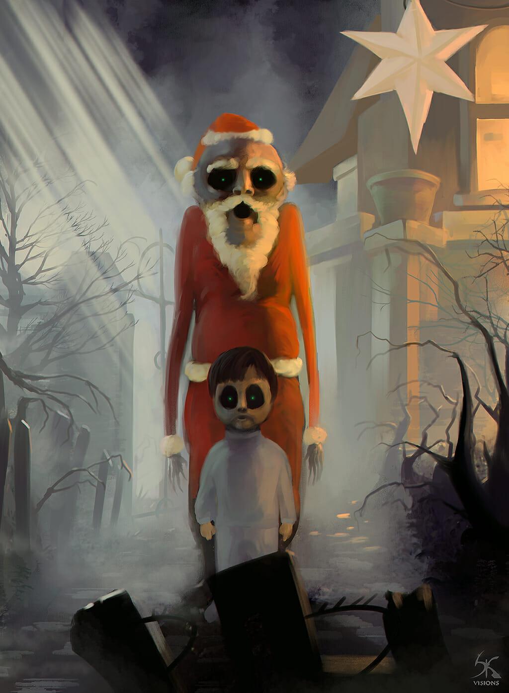 nightmare_santa_by_sanskarans-d6yi5kj