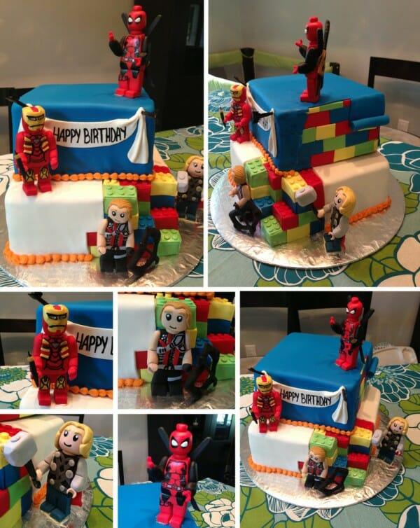marvel-lego-cake