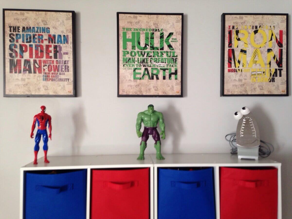 superhero-decoration
