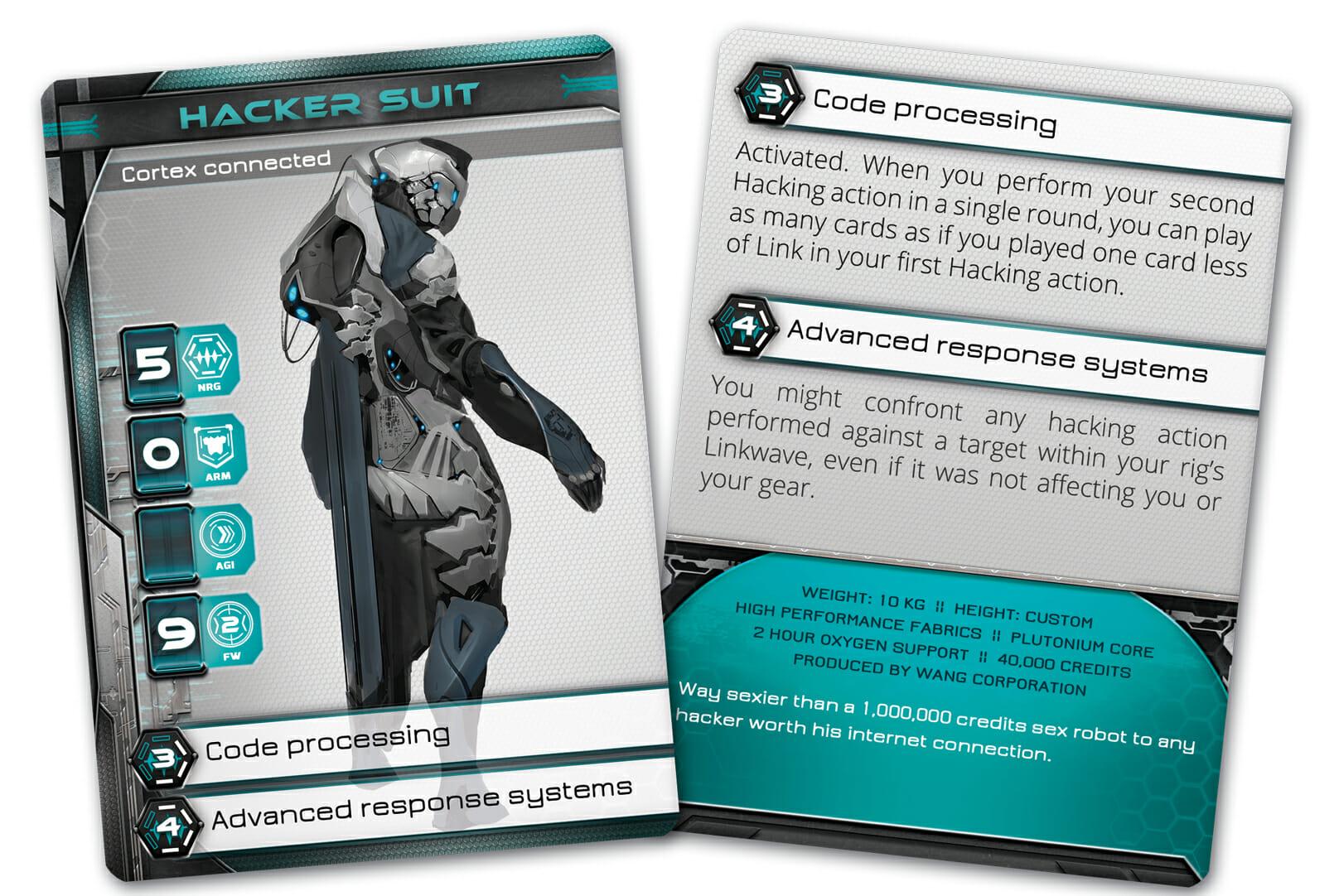 Hacker-suit