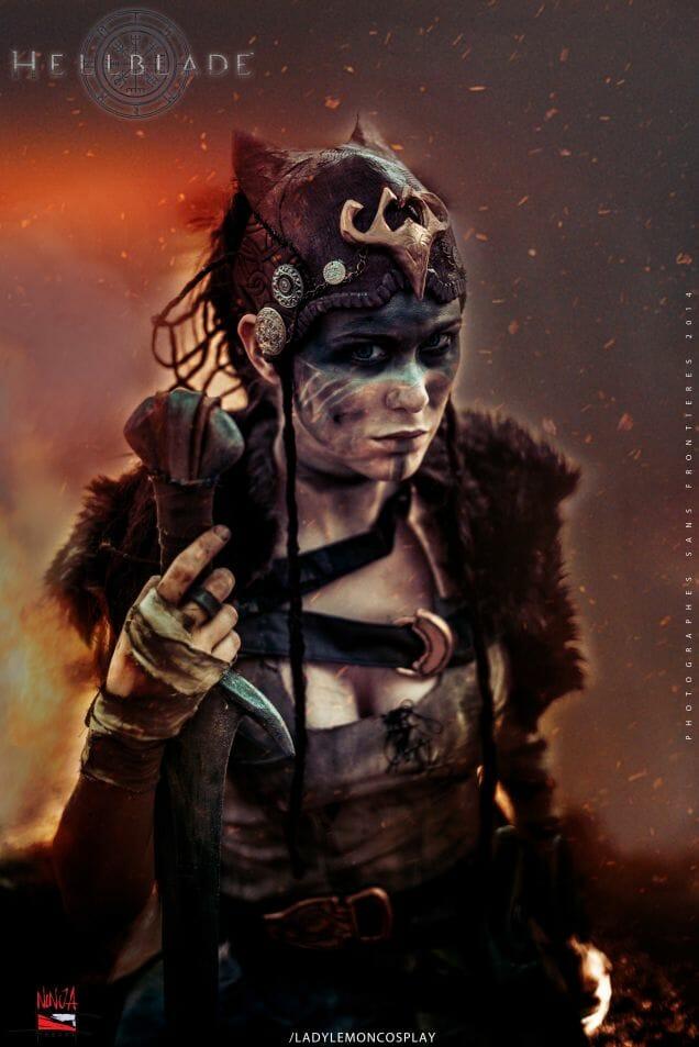 Hellblade cosplay 1