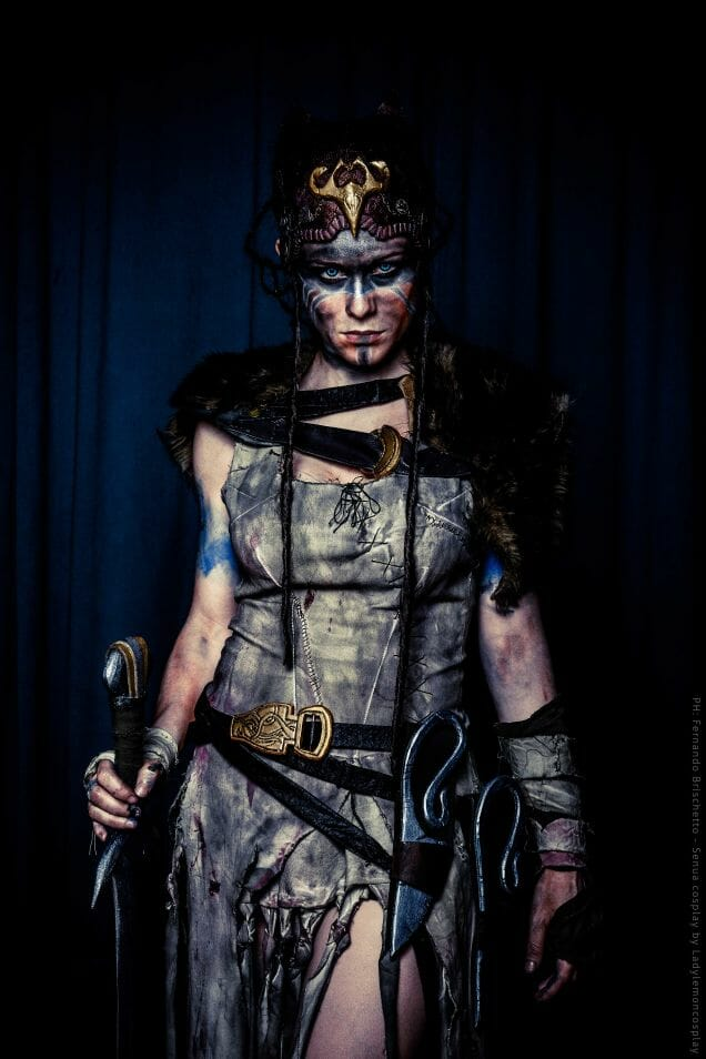 Hellblade cosplay 2