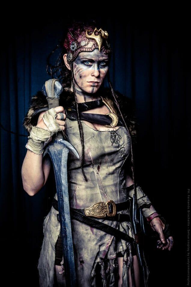 Hellblade cosplay 4