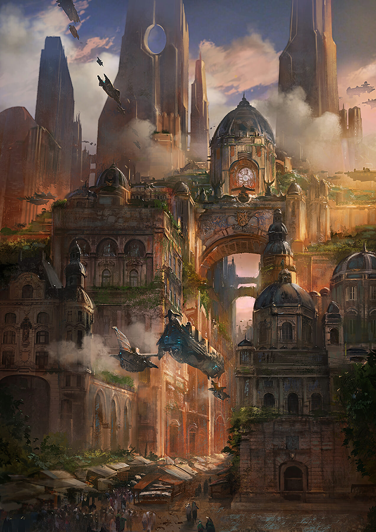 Wonderful examples of environment design concept art from ...