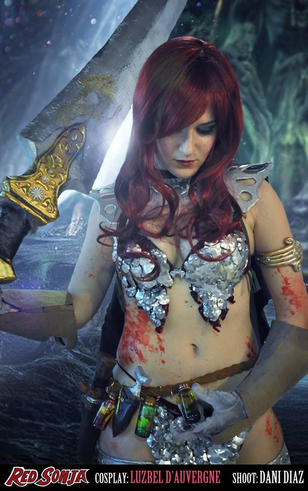 LDA red sonja