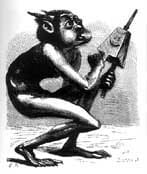 Picture from Collin de Plancy's Dictionnaire Infernal