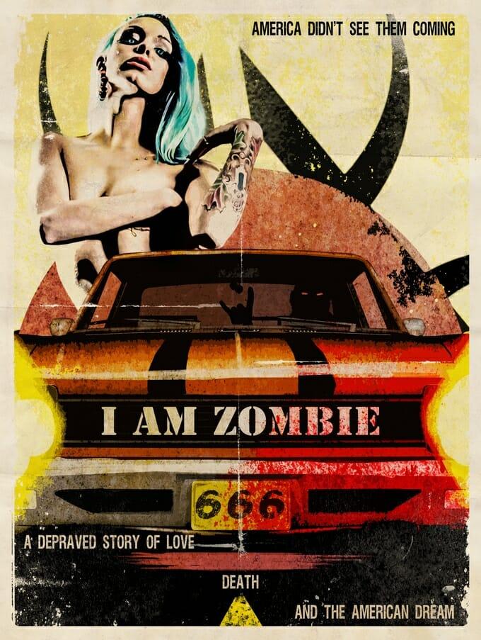 I am zombie art