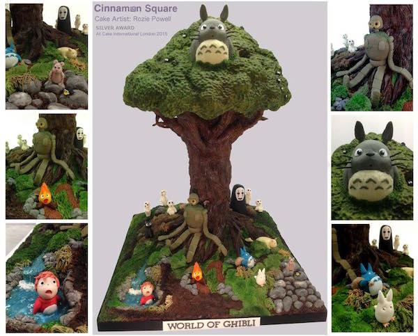 Studio Ghibli cake 1