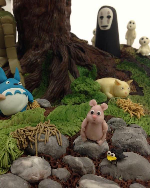 Studio Ghibli cake 4