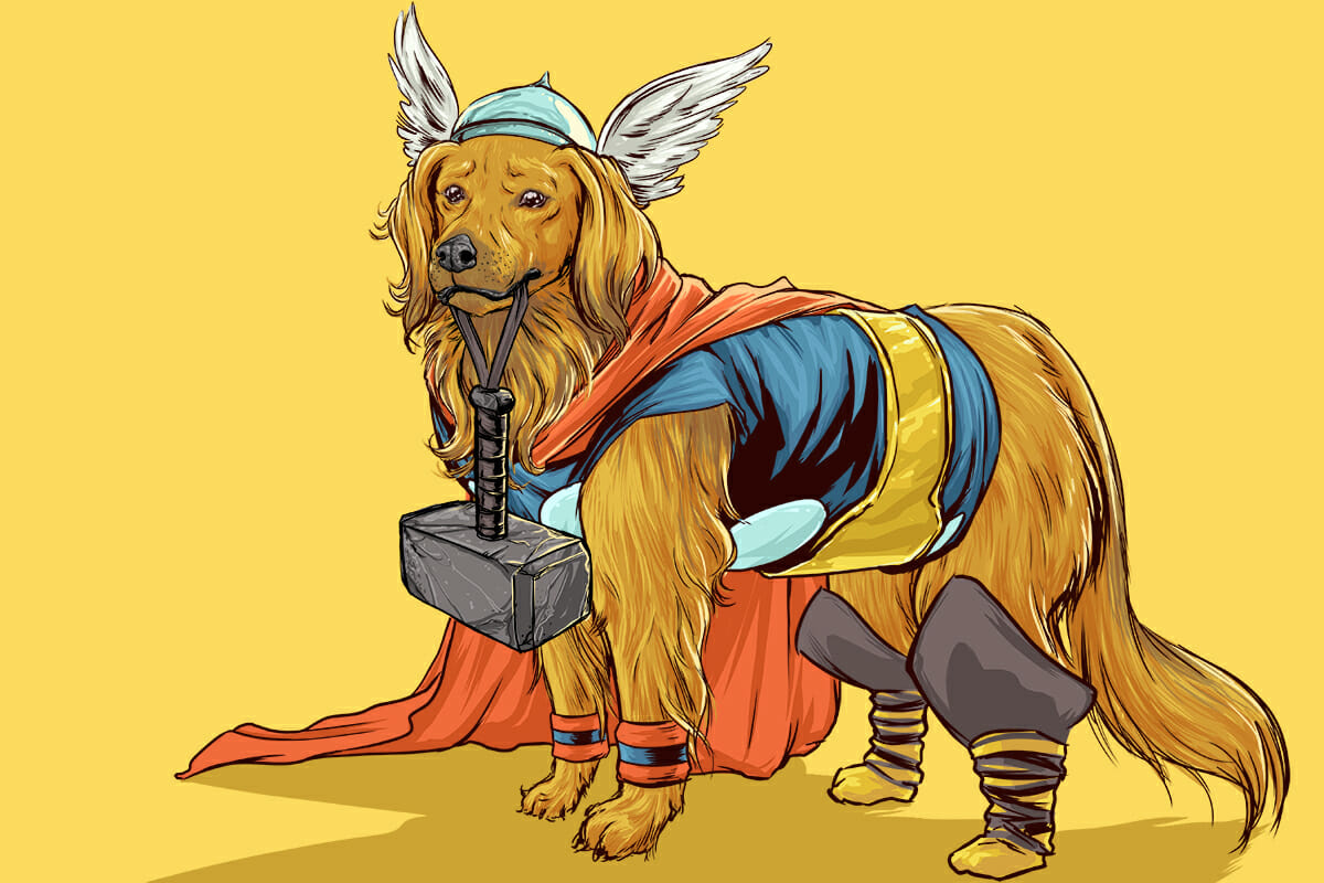 Dogs of the Marvel Universe 10