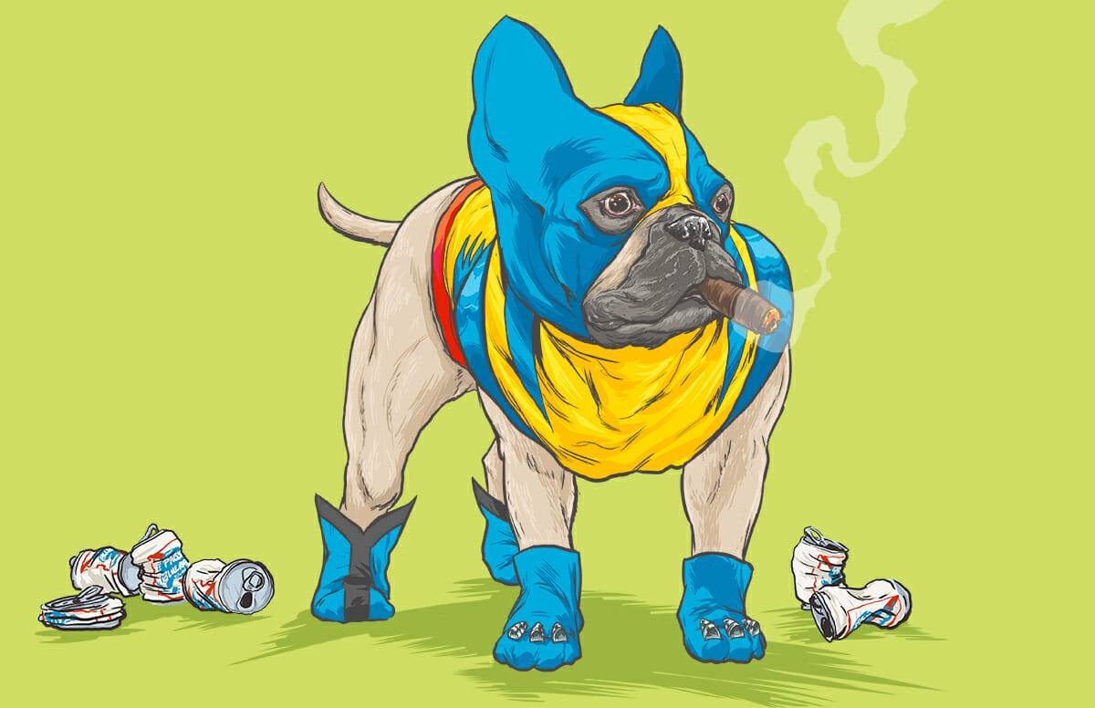 Dogs of the Marvel Universe 5