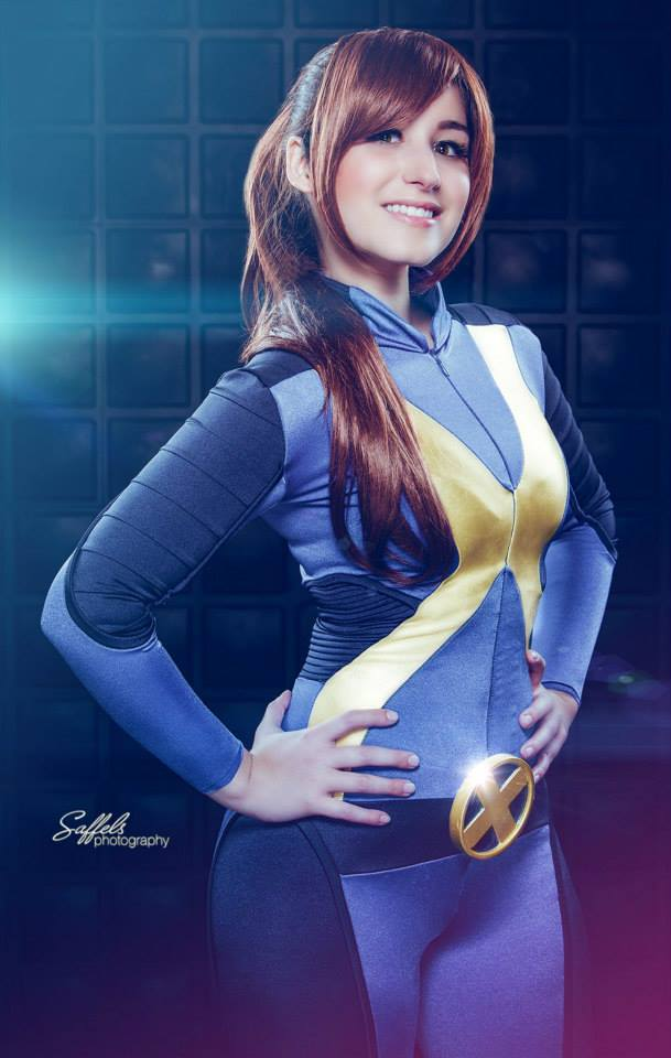 Kitty Pryde cosplay