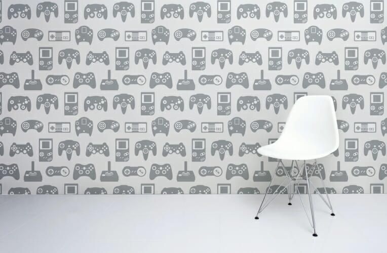 light-grey room