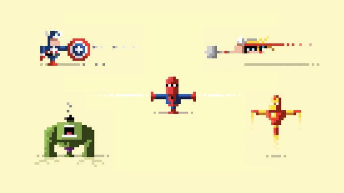 Pixel hero summary