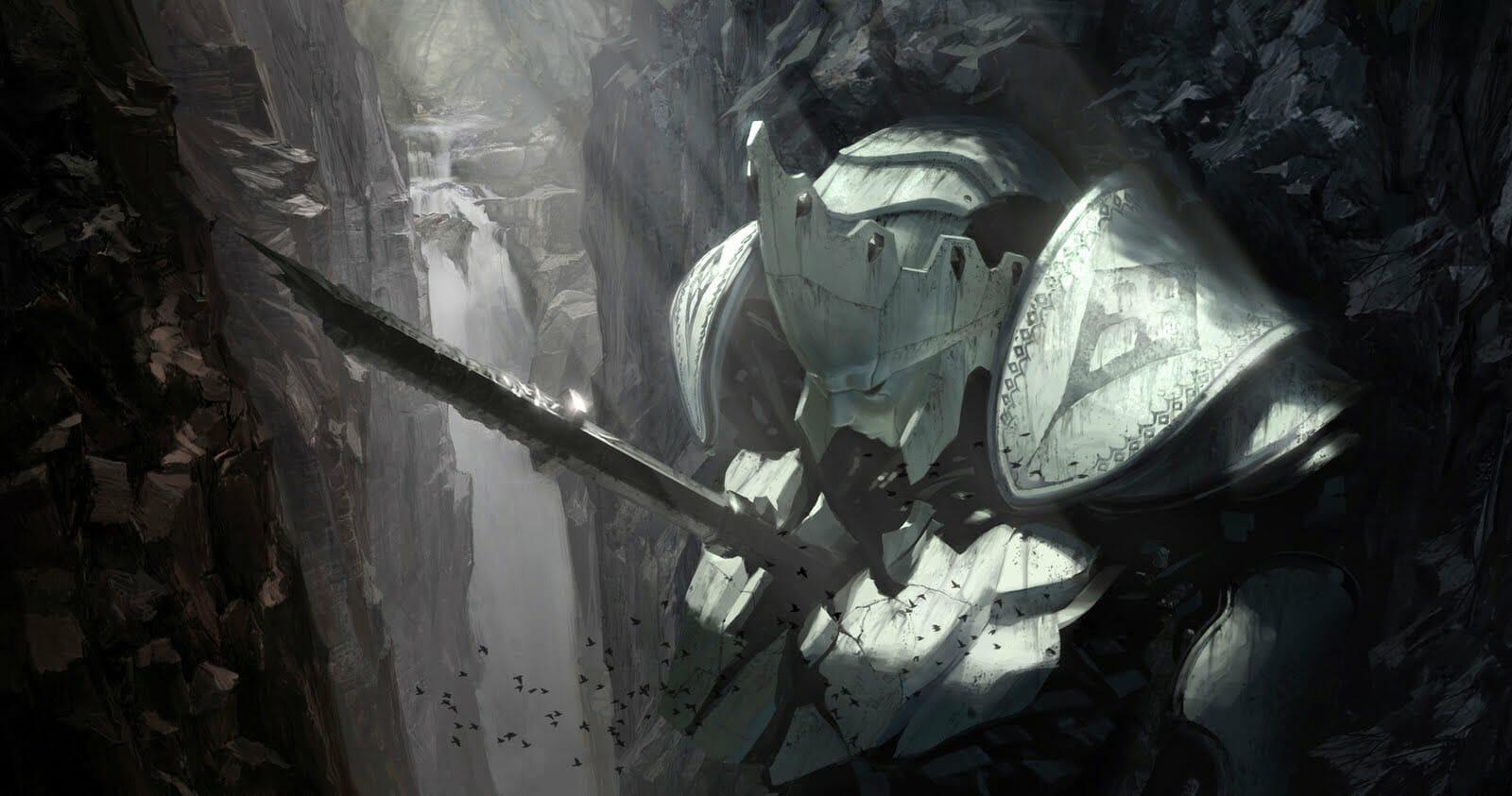 Joon Ahn sci-fi knight