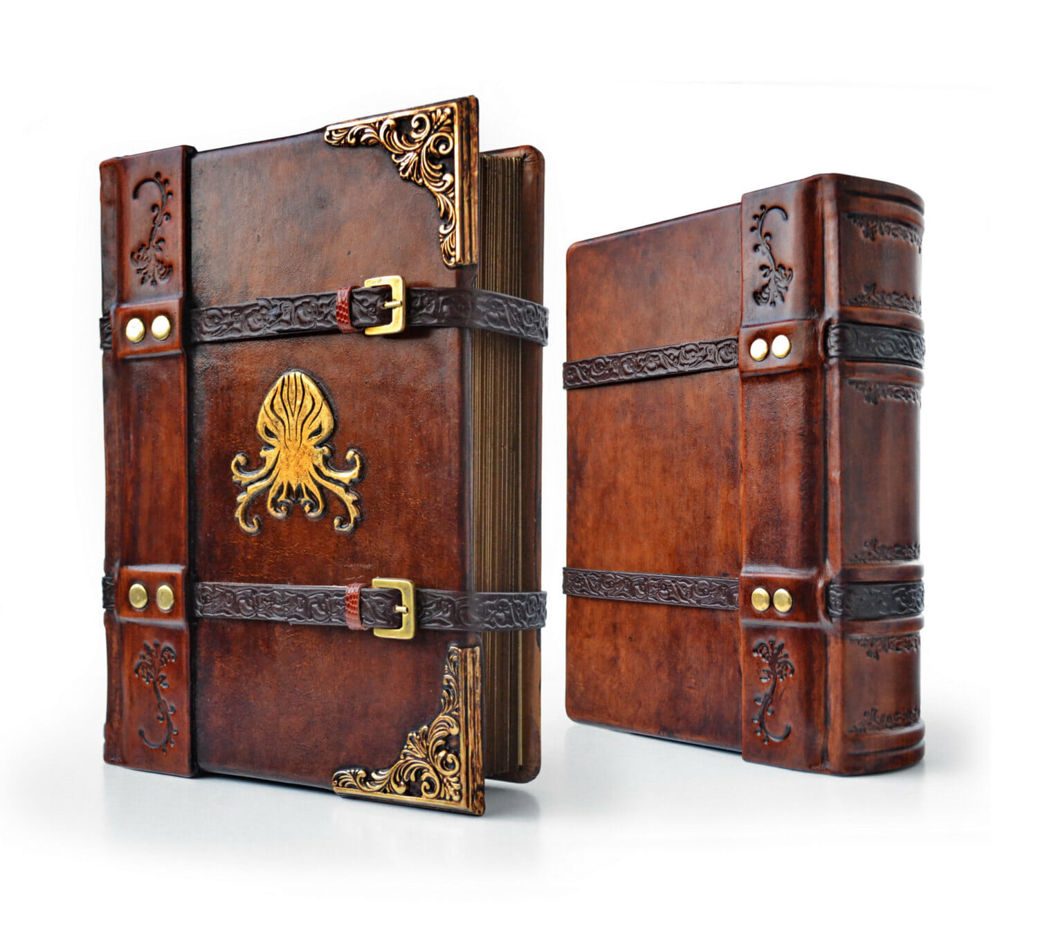 Cthulhu leather journal