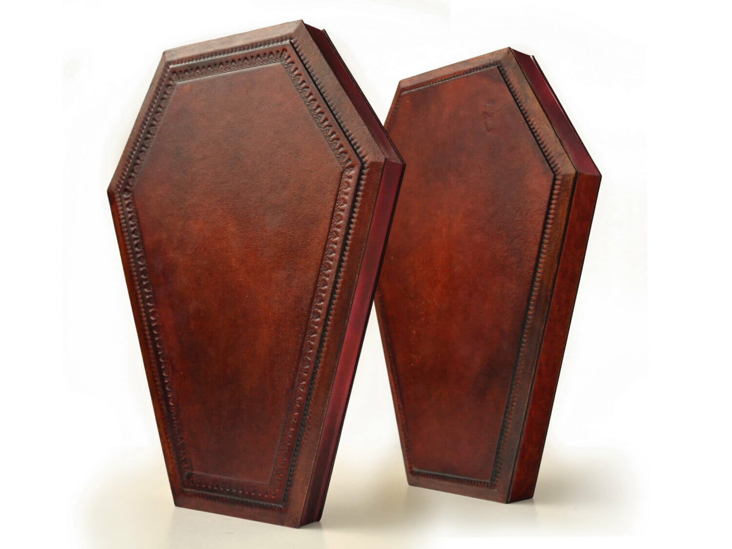 Coffin leather journal