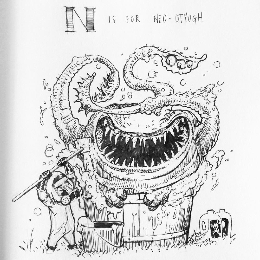 The DnD Alphabet N