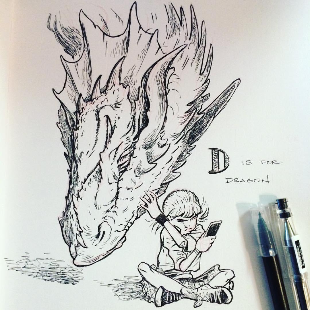 The DnD Alphabet D