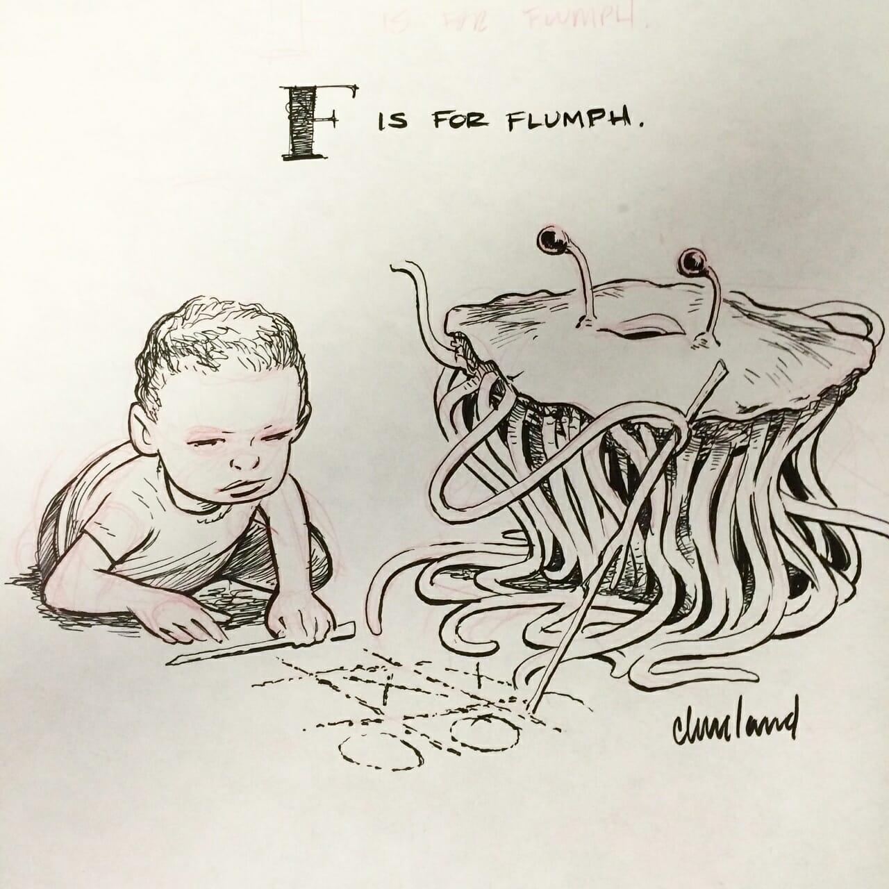 The DnD Alphabet F