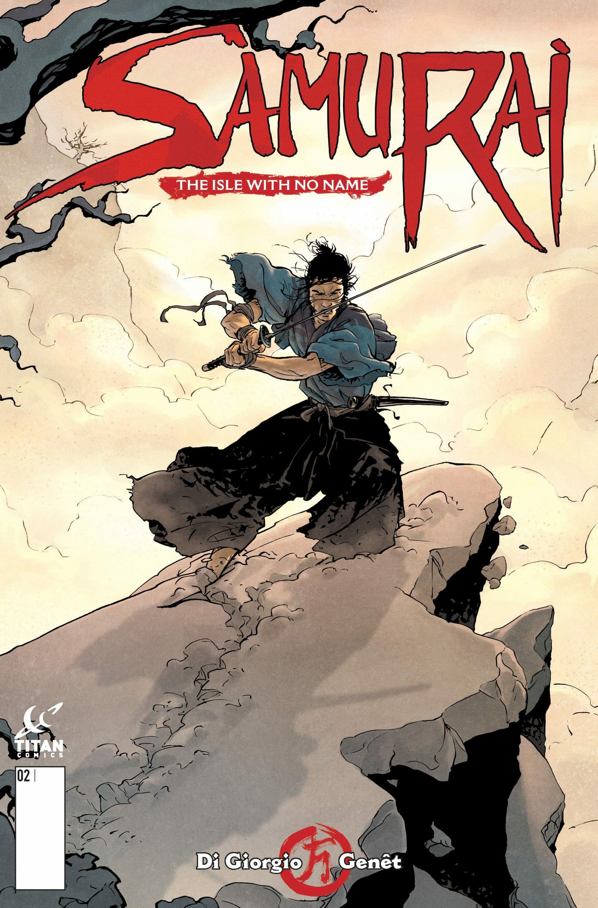 Samurai#2_Cover A by Frederic Genet