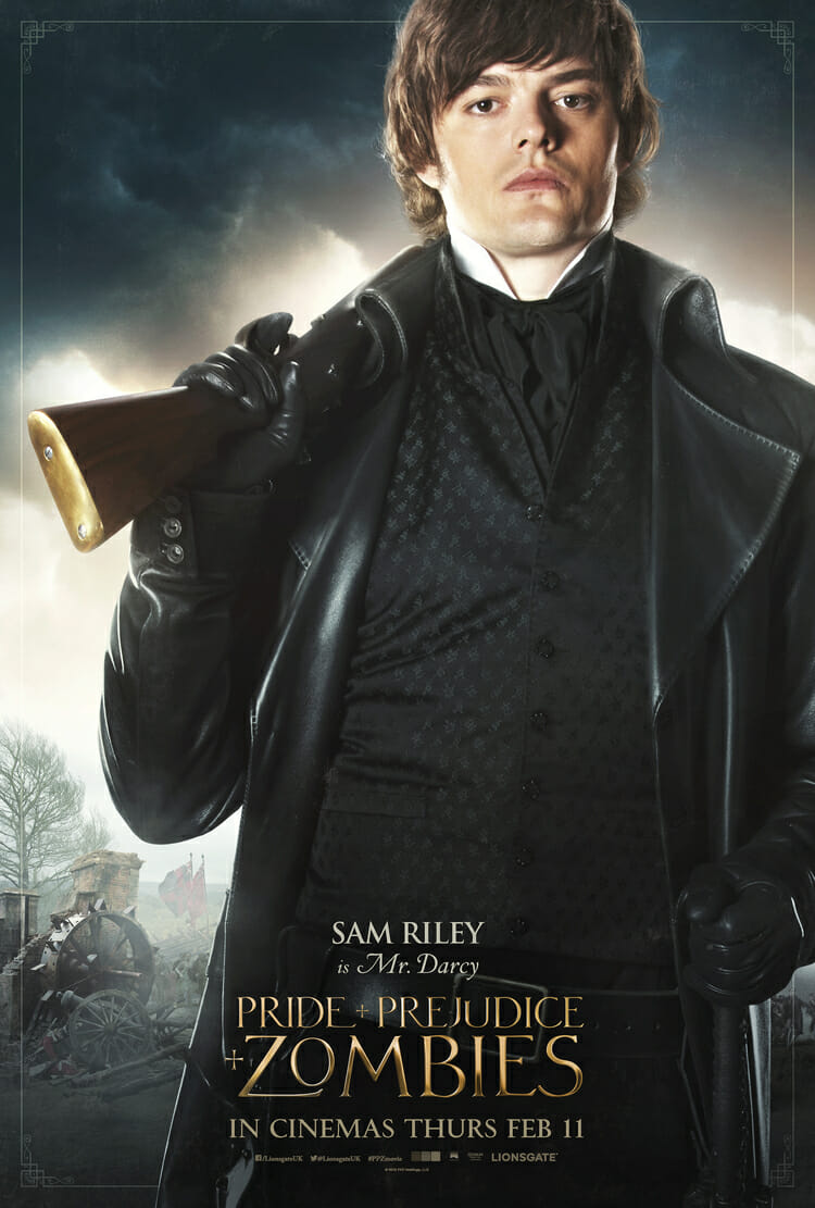Pride and Prejudice and Zombies - Sam Riley is Mr Darcy