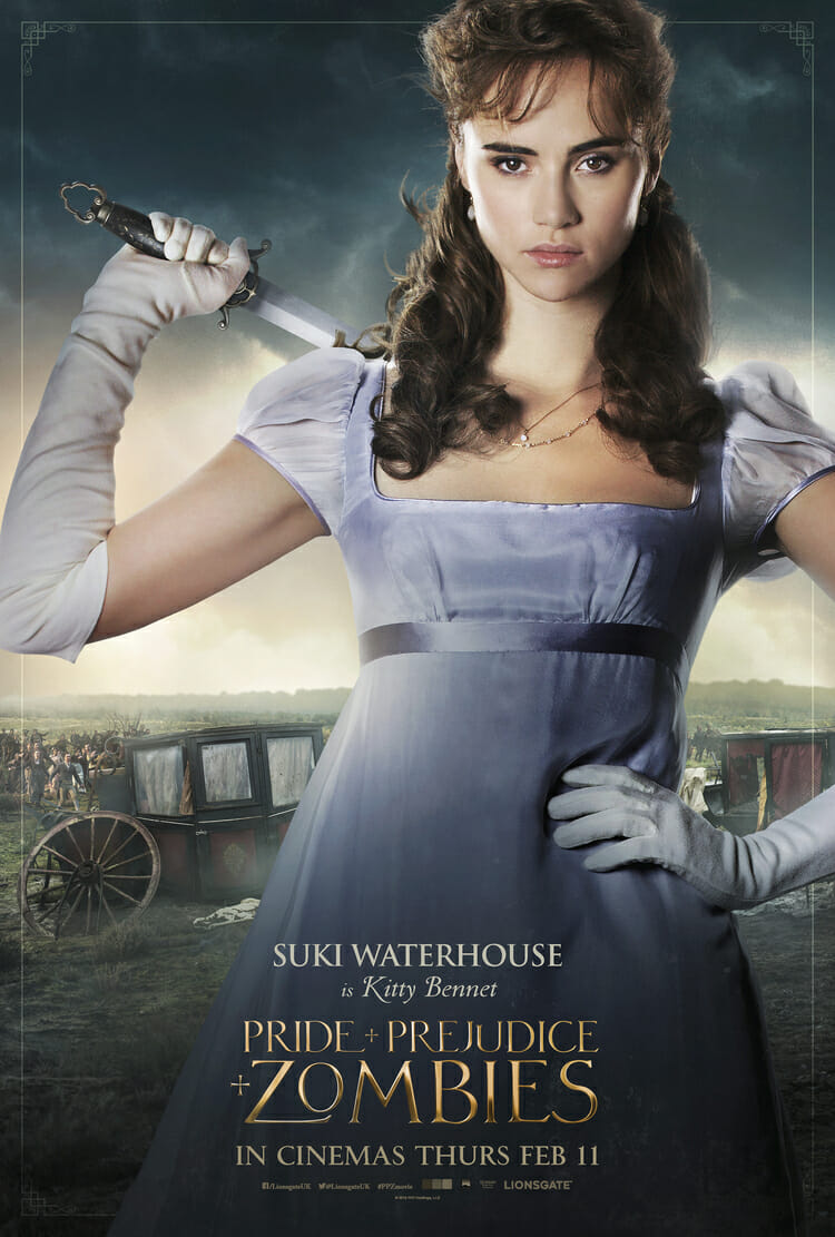 Pride and Prejudice and Zombies - Suki Waterhouse is Kitty Bennet