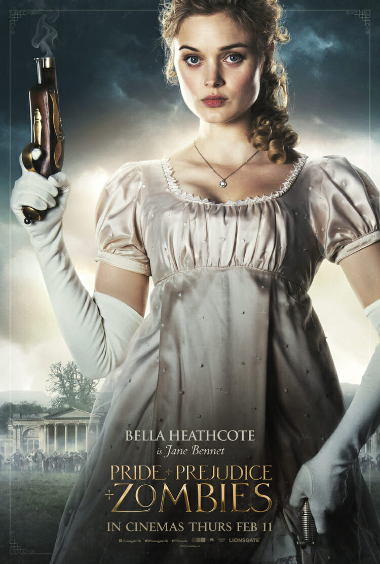 Pride and Prejudice and Zombies - Bella Heathcote is Jane Bennet