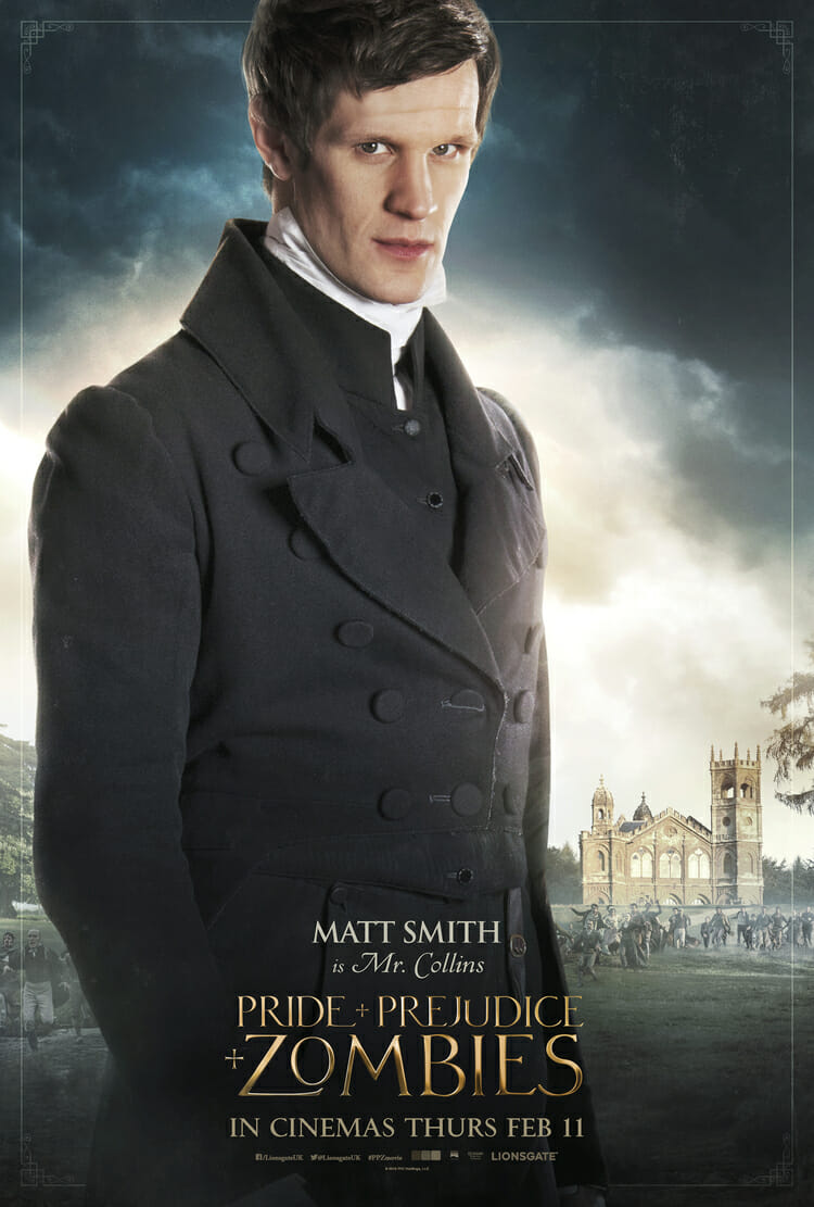 Pride and Prejudice and Zombies - Matt Smith is Mr Collins