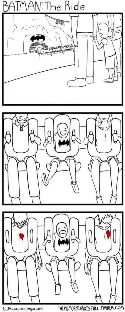 Batman ride