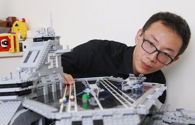 LEGO Helicarrier 6