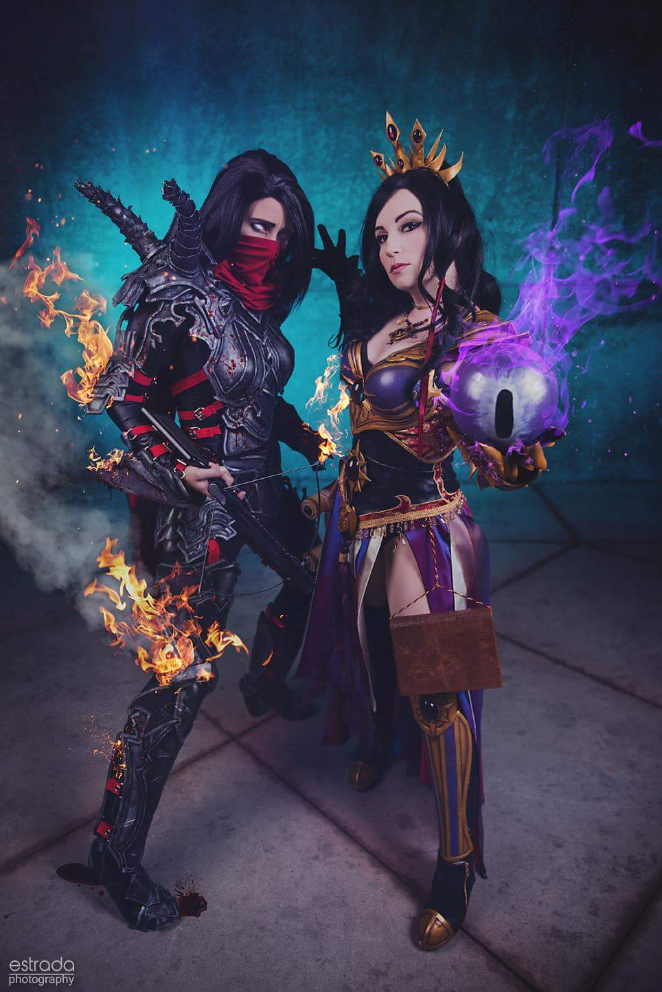 demon hunter and wizard