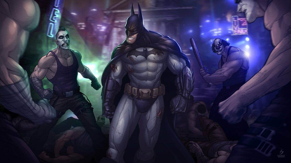 Batman - Arkham City by Patrick Brown