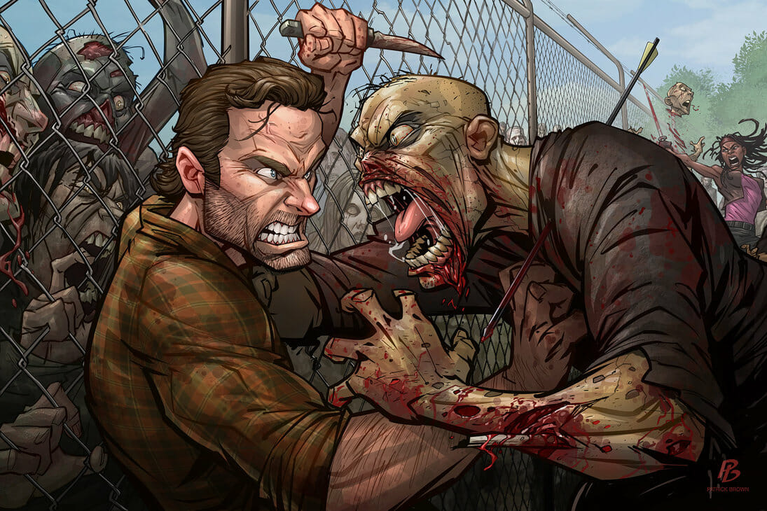 The Walking Dead by Patrick Brown